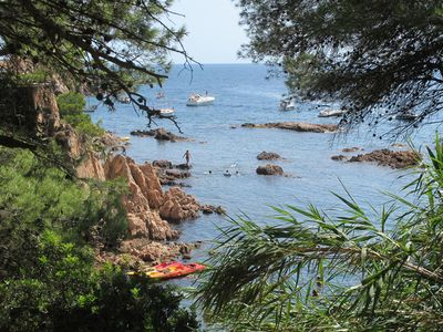 Photo for Tamariu terraced house in one of the best beaches on the Costa Brava, Aigua Gelida