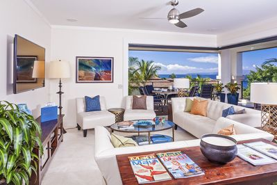 All-new Great Room with beautiful Ocean Views.