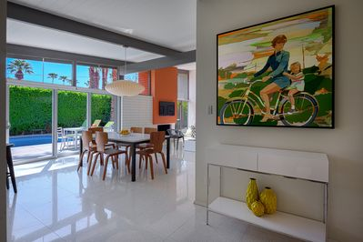Professionally decorated for a quintessential Palm Springs experienc
