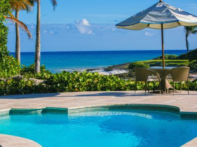 Photo for Luxury Punta Cana Oceanfront Cap Cana Villa with Certified Chef/Butler.