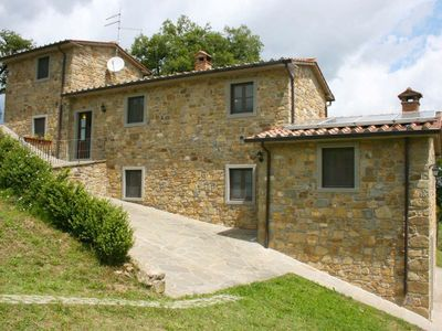 Photo for Stone villa with private pool and garden in extremely panoramic position. Good value for money. Case