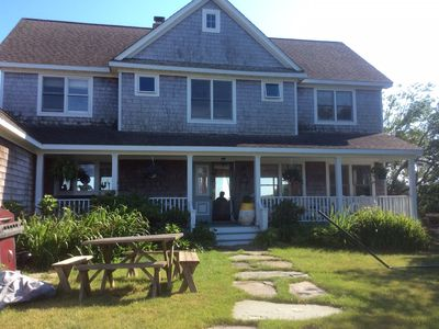 Photo for Peconic Bay Front. Dazzling Water Views From Every Room