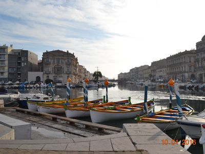 Photo for 2BR Apartment Vacation Rental in Sète, Occitanie