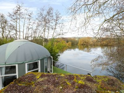 Photo for LAKEVIEW YURT, pet friendly, with hot tub in Beckford, Ref 11980