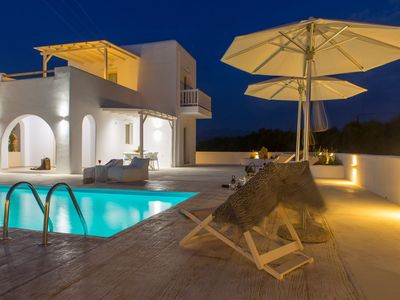 Photo for Naxian Lounge Villas | Villa III with private pool