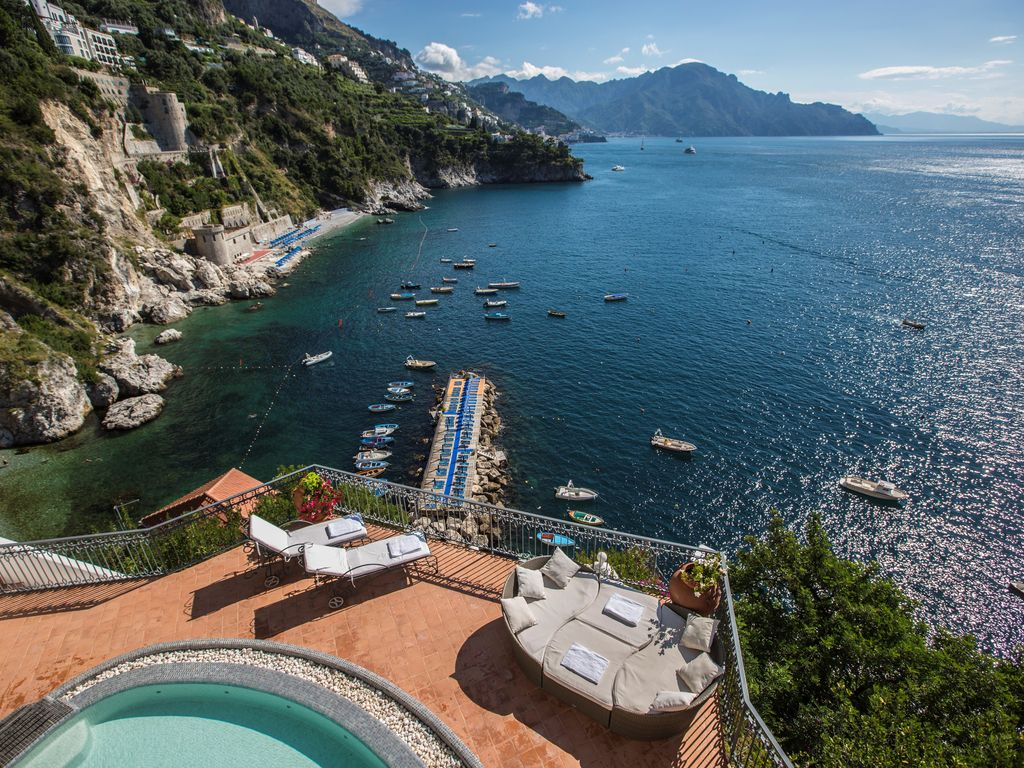 private pool villa in amalfi coast, 35 mete - vrbo