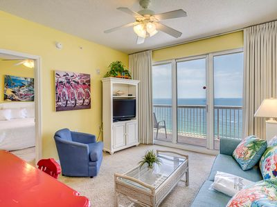 Photo for Beachy Vacation Rental, On-site hot tub and pool, Beah chairs included, On the beach