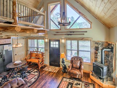 Photo for NEW! Cozy North Conway Cabin - Walk to Ski Lifts!