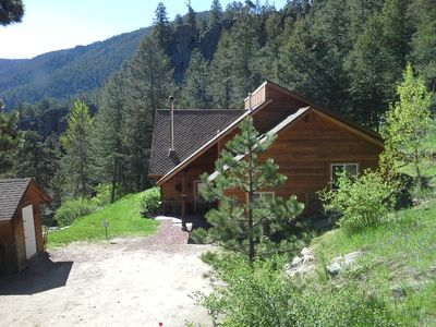 Photo for GREAT FLY FISHING! PRIVATE RIVER ACCESS SITUATED ON 5 ACRES AWESOME VIEWS