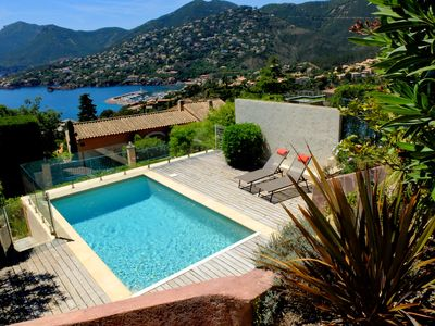 Photo for Promotion Week 20/07 to 27/07 Villa with pool panoramic sea view.