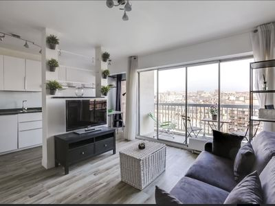 Photo for Studio with balcony and view in Paris