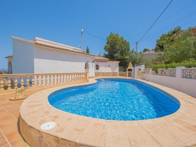 Photo for Villa with private pool and sea views MAR2L