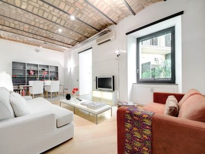 Photo for CR860 - BRAND NEW TRASTEVERE OPEN SPACE(IB) - One Bedroom Apartment, Sleeps 4