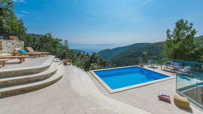Photo for Villa with stunning sea view near Rabac