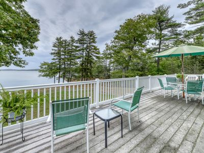 Photo for Waterfront home w/ gorgeous views, river access, firepit & large backyard!