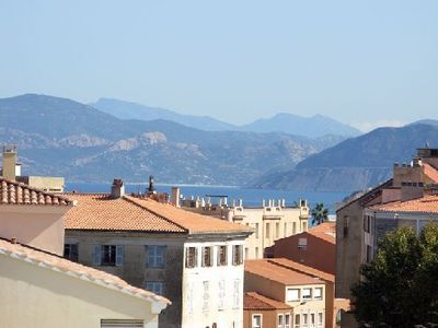 Photo for Comfortable apartment 300m from the beach - Ile Rousse