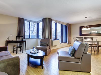 Photo for 1 bedroom Furnished Apartment  - Downtown Montreal