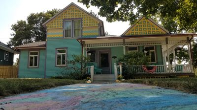 Photo for Restored 1870 Victorian Home in Historic LaPorte, IN all for you..