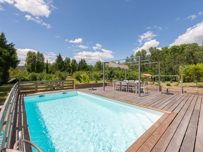 Photo for Deluxe Holiday Home in Gagnières with Private Swimming Pool