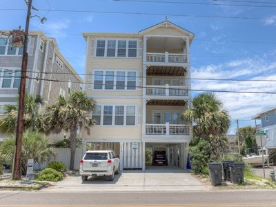 Photo for Amazing beach home, very spacious and great for extended family, with ocean views, elevator and pool access!