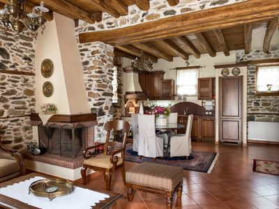 Photo for Luxury Traditional Stone House in Vrasna