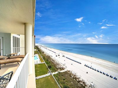 Photo for Long Beach Resort, Tower 3, 9th Floor Unit 3 Bedroom, 3 Bath with  Gulf Views