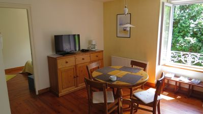 Photo for Peaceful down town apartment with garden and parking space