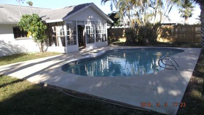 Photo for Private Pool Home! Minutes to the Beach, Space Coast Stadium, Theme Parks