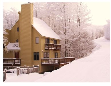 Photo for The Haven ski -in ski-out  home sets directly beside the Salamander ski trail