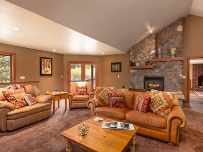 Photo for Mtn Modern Cabin | 1 Mile To Resort | 2 Lounge Areas | Sleeps 11 | Lots to Love