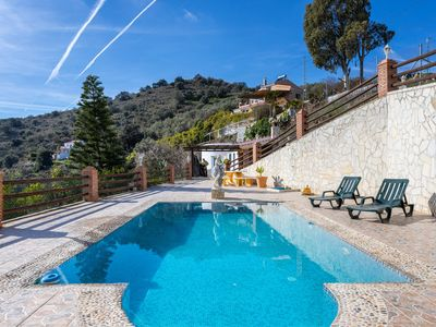 Photo for Beautiful Spanish retreat w/ private pool, ocean view & spacious deck - dogs OK!