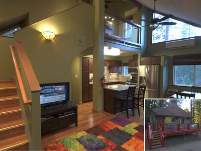 Photo for Inside Yosemite Nat Park! Newly remodeled private 2bd 2ba home with central A/C