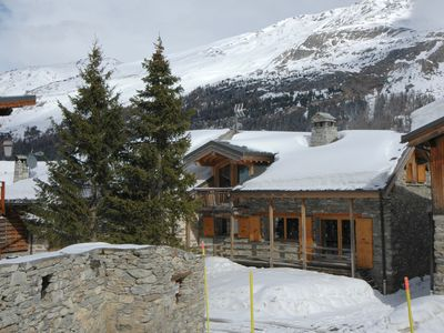 Photo for Charming chalet at the foot of slopes TIGNES