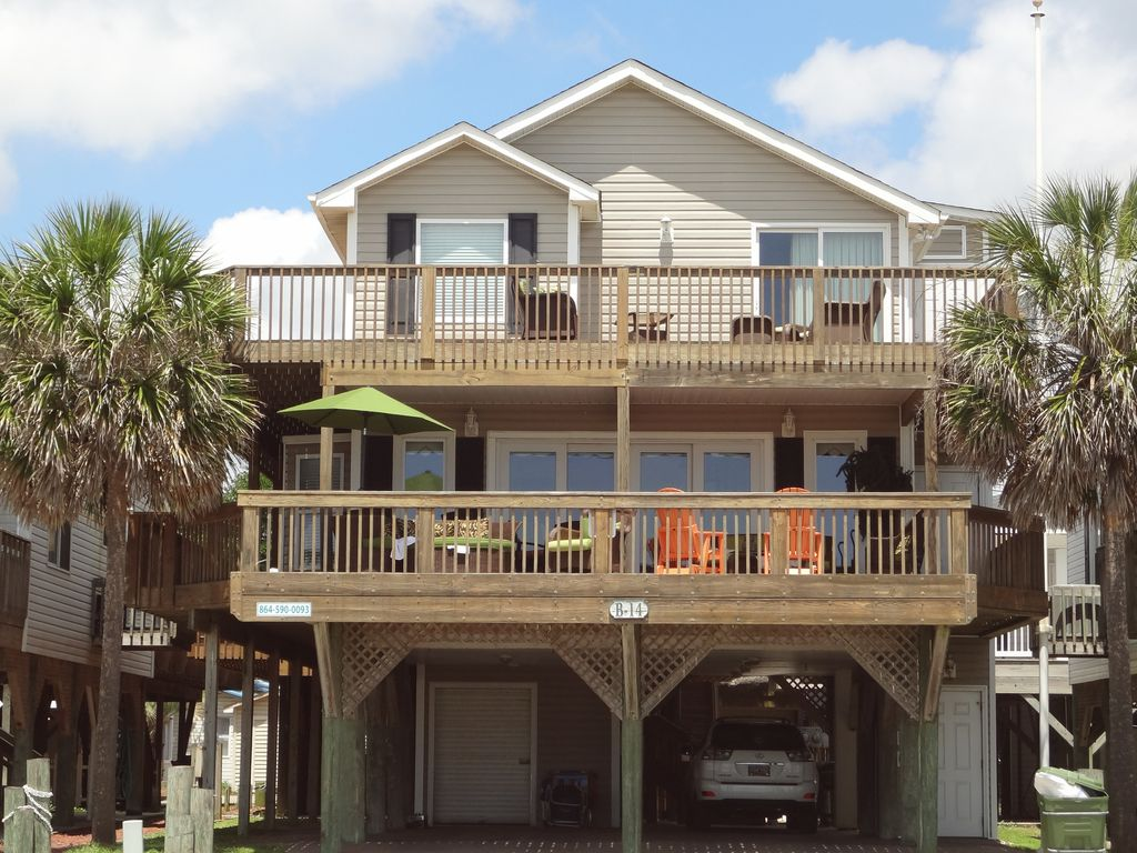 B14 Ocean Lakes Beautiful Oceanfront Home  VRBO