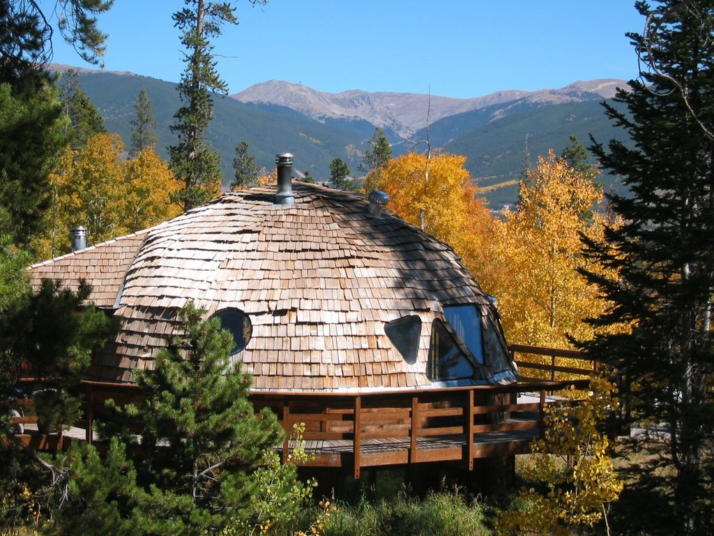 Geodesic Dome cabin at 9,200 feet on Buffal... - VRBO