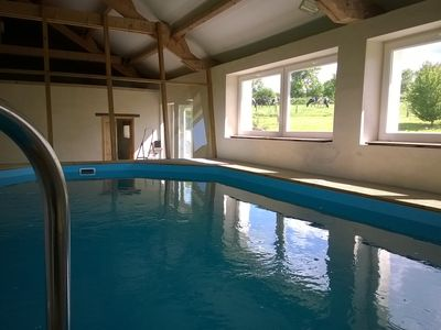 Photo for House in the countryside with heated indoor pool.