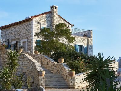 Photo for Orelia Cretan Villas-Romantic natural stone villa 1, great view