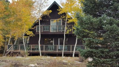 Photo for Cabin on Creek w/Mountain Views! Winter or Summer, Perfect for Family Getaways!