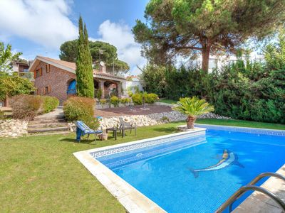 Photo for This 3-bedroom villa for up to 7 guests is located in Blanes and has a private swimming pool and Wi-