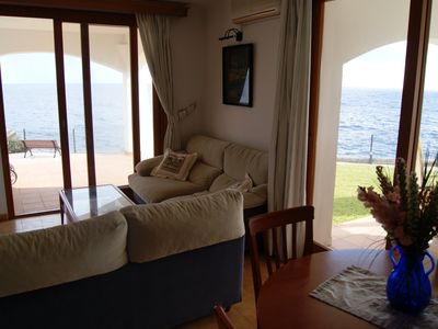 Photo for Apartment located in front of the sea.