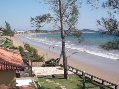 Photo for Wonderful 2 bedroom house w / balcony and pool by the beach.