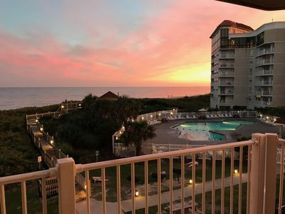 Photo for OCEANFRONT 2 BEDROOM DELUXE CONDO ON NORTH TOPSAIL BEACH, NC