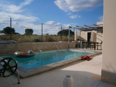 Photo for Villa conditioned scrubland edge with pool 10 minutes from Montpellier