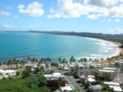 View of La Parad Beach, the Surfing Beach, from Condominium Back Side Back Side