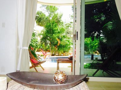 Photo for tulum, natural-chic apartment, a ride through the pueblo and the sea