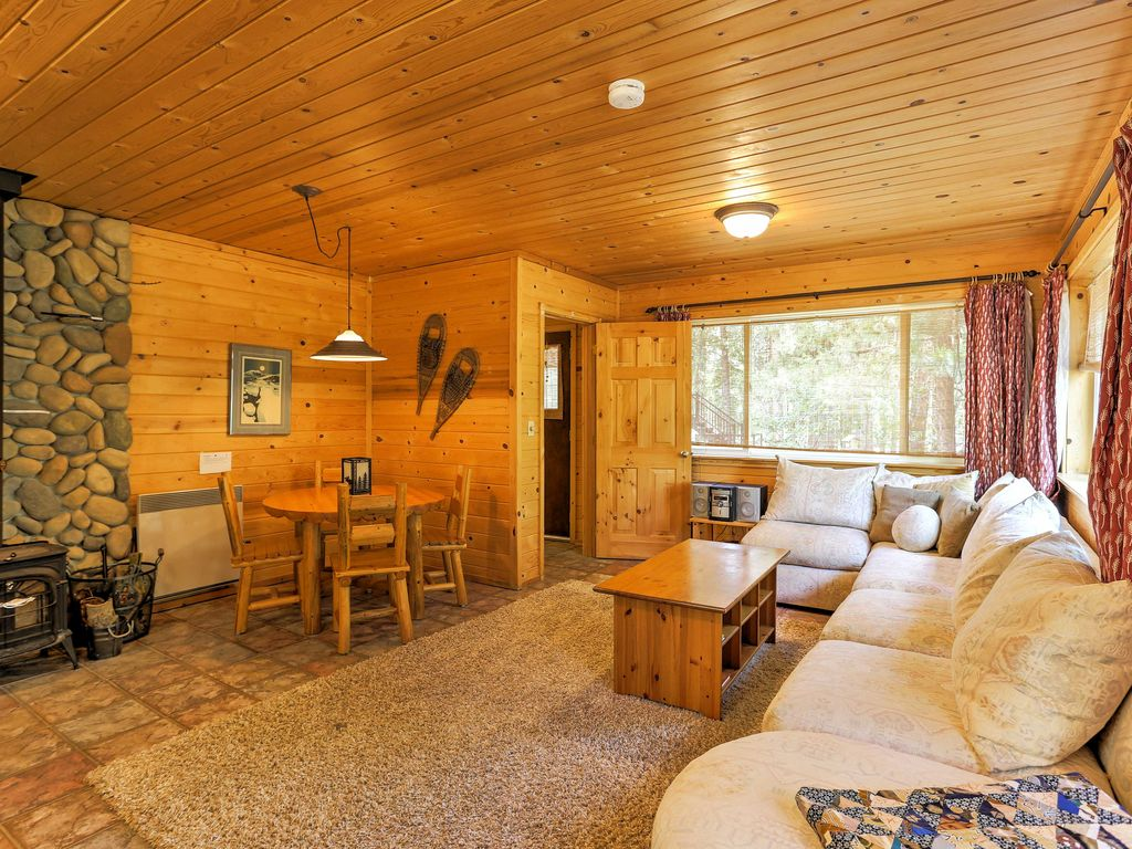 New romantic winthrop 1br on the chewuch homeaway for Winthrop cabin rentals