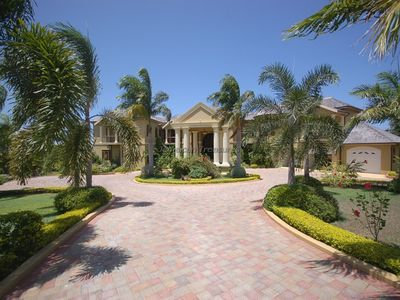 Photo for LUXURY! LARGE! FAMILY REUNIONS! FULLY STAFFED! Golden Castle Villa 5BR