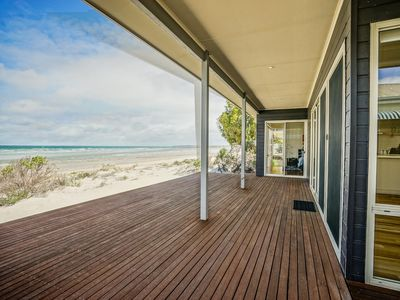 Photo for BEACHED - Step off the deck and onto the sand! 3BR Beachfront Beauty