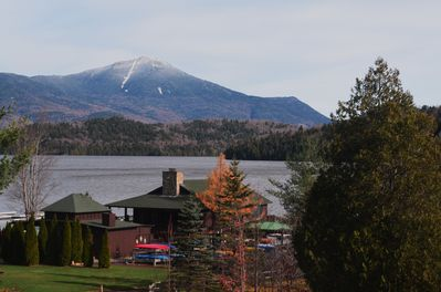 Welcome to Hillside 2: overlooking Lake Placid, our marina & Whiteface Mountain!