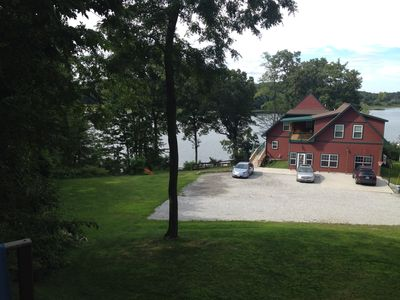Sandy Beach Accessible Knotty Pine Lodge w/ 47 Wooded Acres!